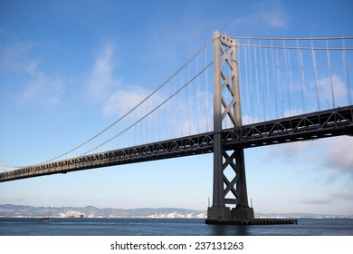 View of San Francisco with the Oakland Bay Bridge