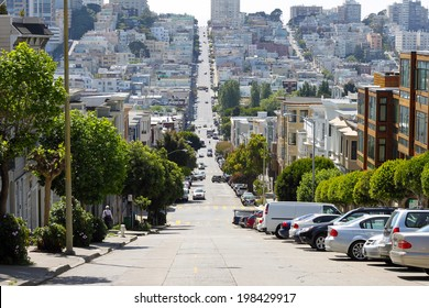 View of San Francisco Streets from Telegraph Hill