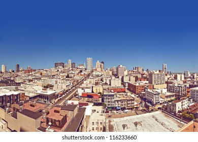 View of San Francisco, USA