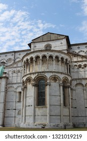 View of San Martino Cathedral ( Tuscany, Lucca, Italy )