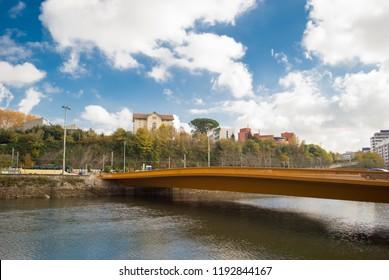 View of the San Sebastian River in Spain