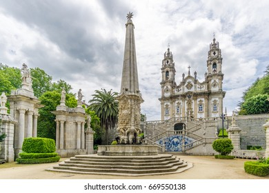 View at the Sanctuary of Our Lady of Remedios in Lamego - Portugal