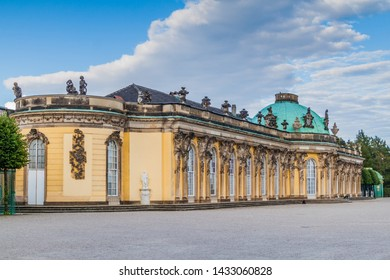 View of Sanssouci palace in Potsdam, Germany