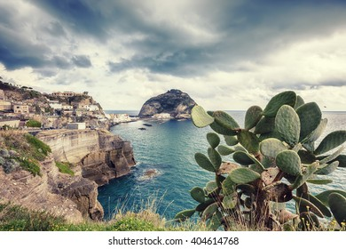 A view of Sant Angelo in Ischia island in Italy