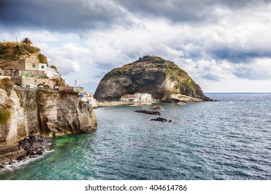 view at  Sant Angelo Ischia island , Italy