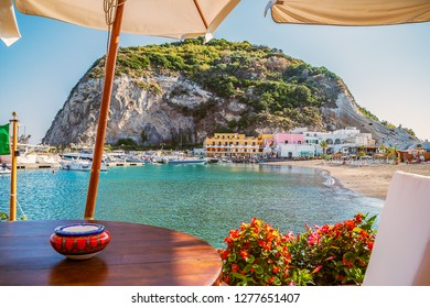 A view of Sant Angelo on island Ischia,Italy