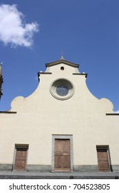 View of Santo Spirito church in Florence, Italy