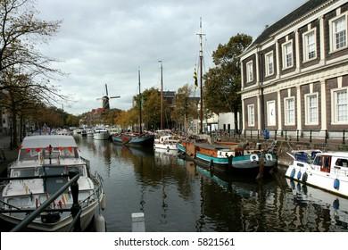 View in Schiedam