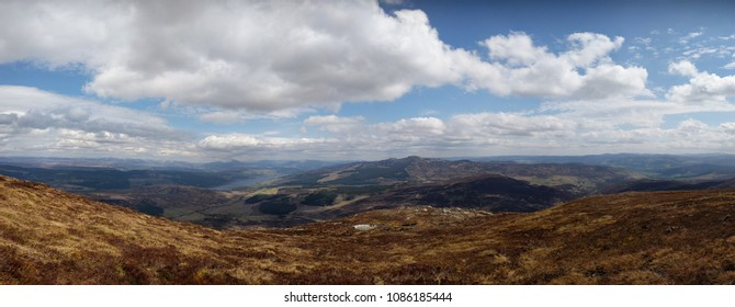 View from Schiehallion, Scotland