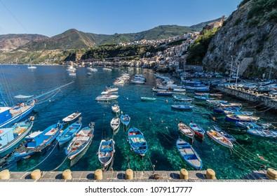 View of Scilla, Calabria