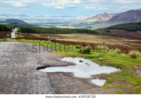 View of the Scottish Countryside