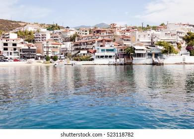 view of the sea Neos Marmaras, Greece
