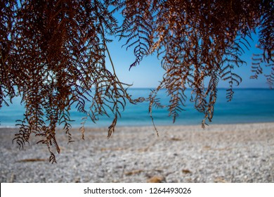 view of the sea. summer in albania . albanian riviera