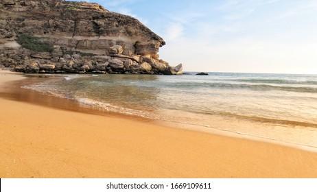 View from Seashore near Salalah Oman