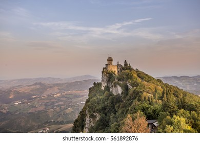 View of the Second Tower of the San Marino CItadel