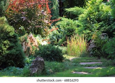 View to the secret garden