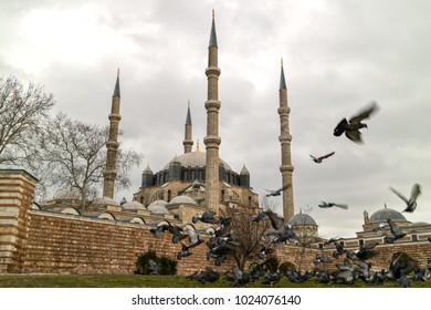 View of Selimiye Mosque-Edirne,Turkey