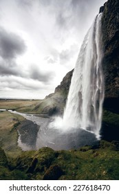 View of Seljalandsfoss - The Falls of Iceland