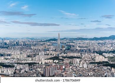 A view of Seoul city