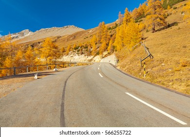 view of a serpetine of the albula road