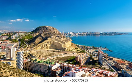 View of Serra Grossa o San Julian Mountain in Alicante - Spain