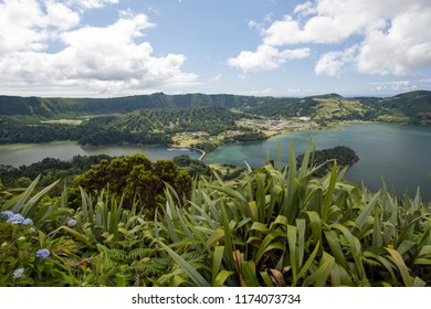View of Sete Cidades