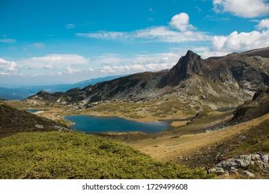 View from Seven Rila Lakes en Bulgaria