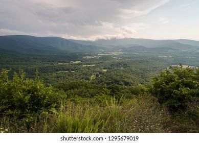 View of the Shenandoah Valley - Shenandoah National Park
