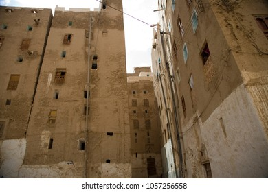 View to Shibam - town of Mood skyscrapers
