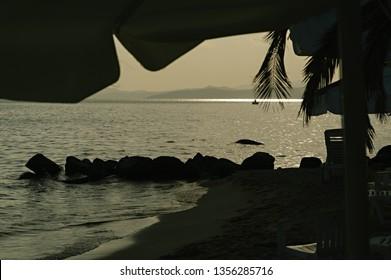 3d5183415a Fishing Boat in Far Horizon Images, Stock Photos & Vectors ...