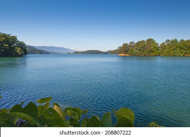 View from the shore at South Holston Lake