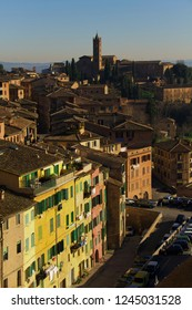 View of Siena, Italy