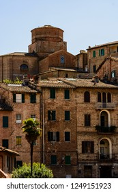 A view of Siena, Toscany, Italy