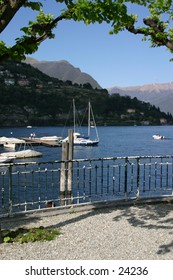A view from sight seeing in Cernobbio