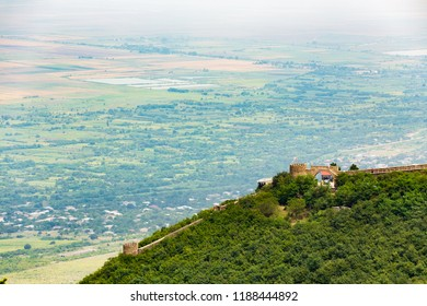 View of Signagi And Alazani Valley, Georgia