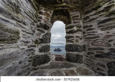 View from Skellig Michael Island,Ireland,Europe ,Location of sta