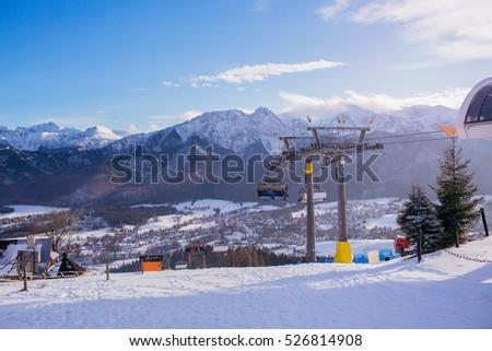 View Ski Resort Zakopane Poland Stock Photo Edit Now 526814908