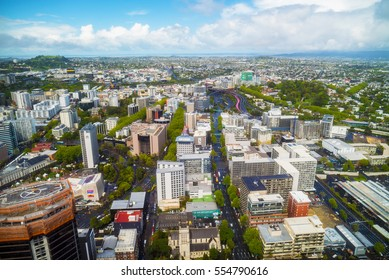 View from the Sky tower in Auckland, New Zealand, Oktober 14th, 2016