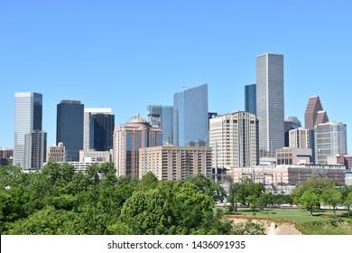View of skyline in Houston, Texas