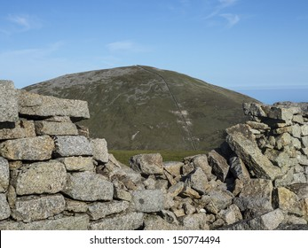 view of slieve Donnard the highest mountain in North Ireland