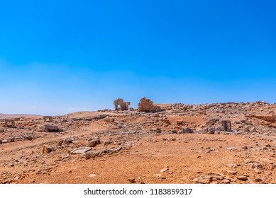 View of Sogmatar or Sugmatar Ancient City,a Sabian place of worship for moon god Sin in Harran,Sanliurfa,Turkey.