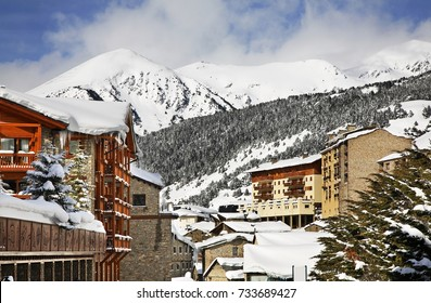 View of Soldeu. Andorra