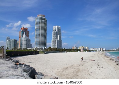 View of the South Beach shoreline