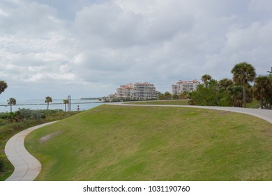 View of the South Pointe Park, in Miami, Florida, United States