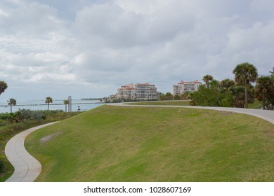 View of the South Pointe Park Pier, in Miami, Florida, United States
