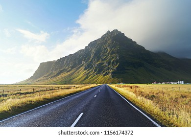 View from south road of Iceland