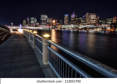 View from Southbank of Brisbane City, Australia