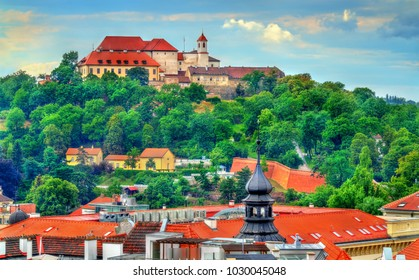 View of Spilberk Castle in Brno - Moravia, Czech Republic