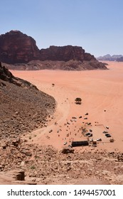 View from Lawrence's Spring, Wadi Rum Protected Area, Jordan