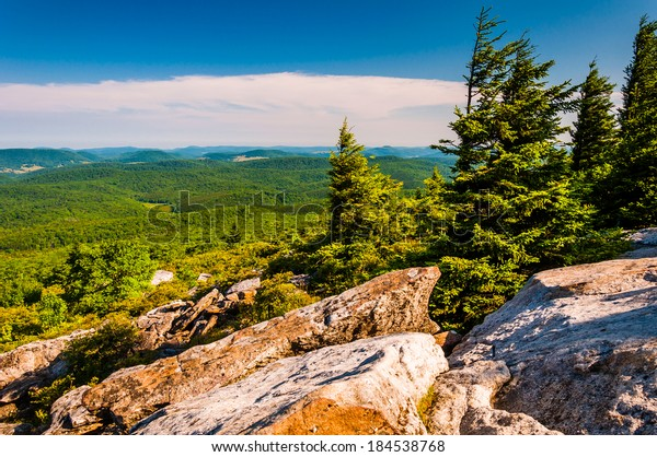 View from Spruce Knob, West Virginia.